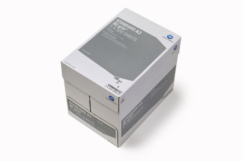 Papier Konica Minolta Standard A4 1/4 palety